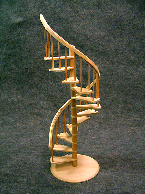 Spiral Staircase Display Stand Roomboxes and Miniature Spiral Staircases 18